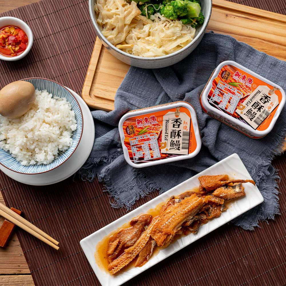 【新東陽】海捕豆鼓香酥鰻(100g *12罐)