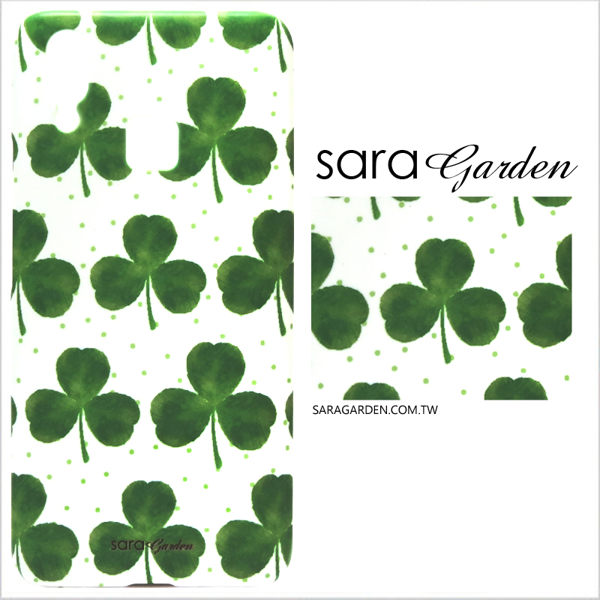 【Sara Garden】客製化 手機殼 SONY XA1 Ultra 保護殼 硬殼 手繪幸運草