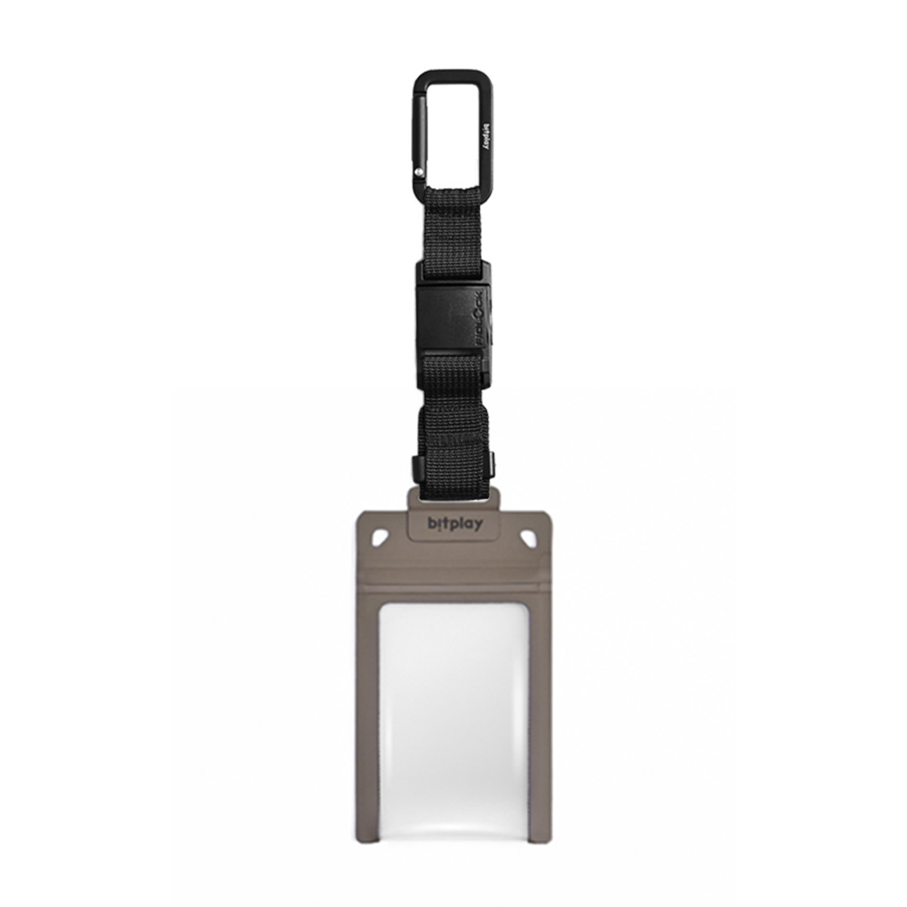 bitplay AquaSeal 防水機能證件套 - 沙漠黃 + Fidlock® 瞬扣掛鉤