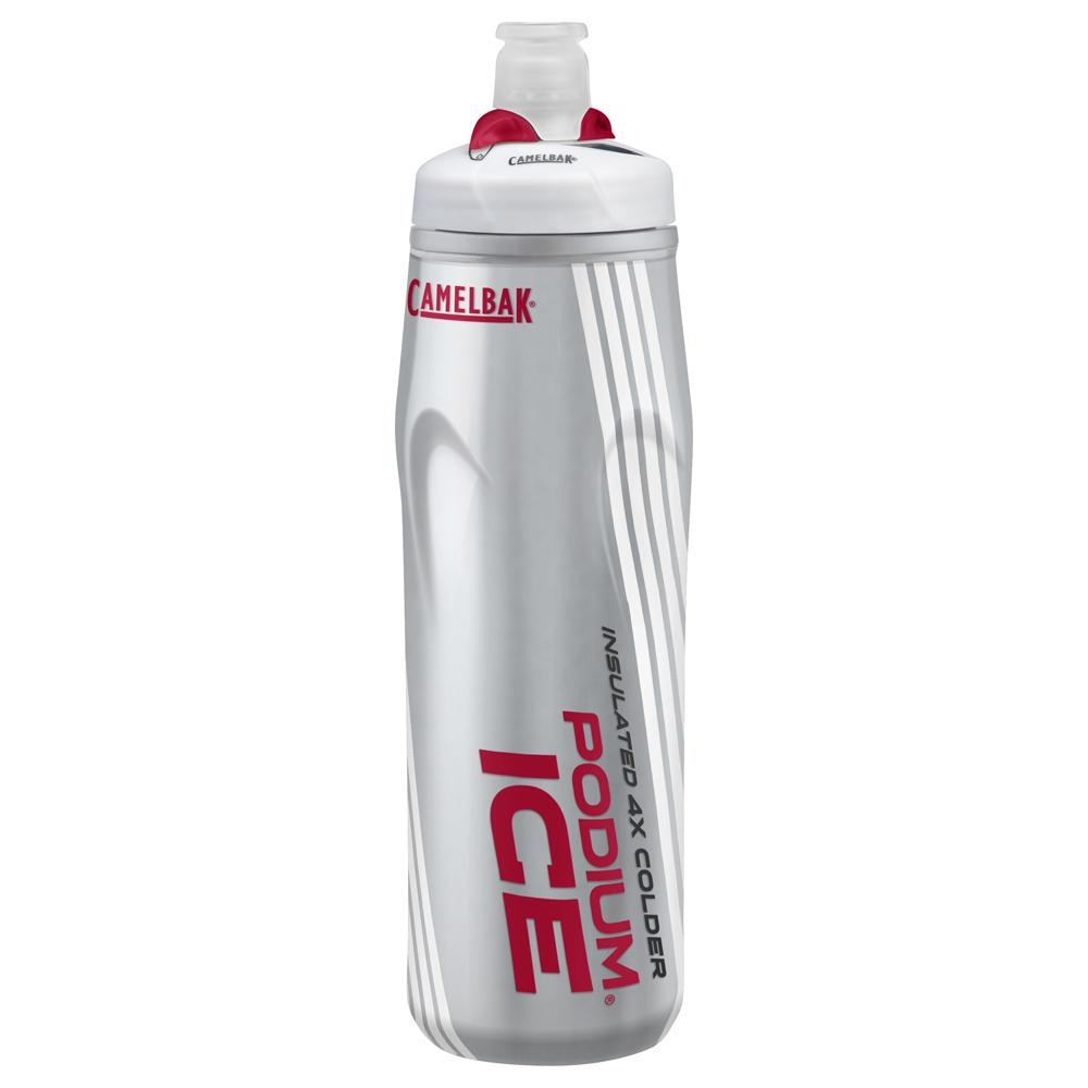 【美國 CAMELBAK】620ml 酷冰保冷噴射水瓶 火紅