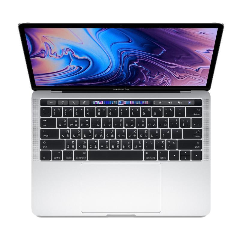 【2018新機】APPLE MacBook Pro(TB) i5 512G 13吋 銀_MR9V2TA/A