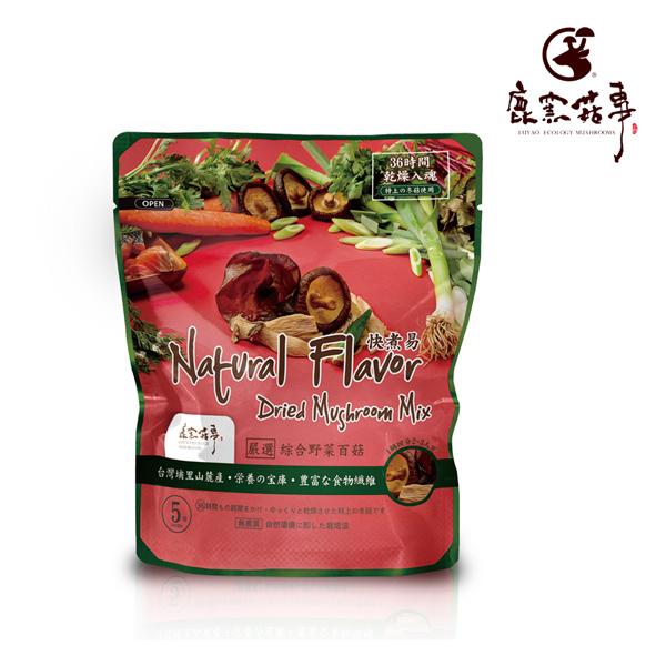 鹿窯菇事.快煮易系列-綜合野菜百菇(20g/袋,共2袋)