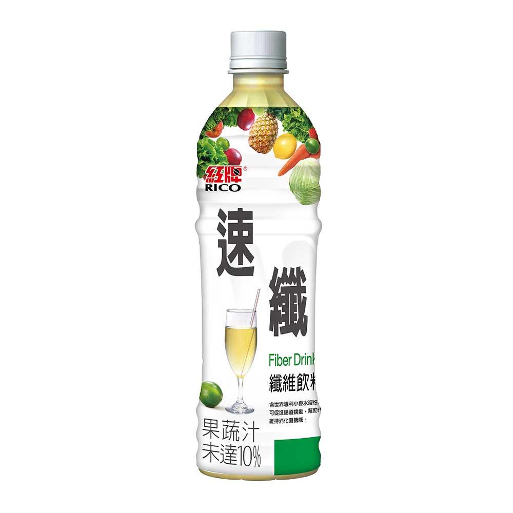 【紅牌】速纖纖維飲料 495gX24瓶/箱