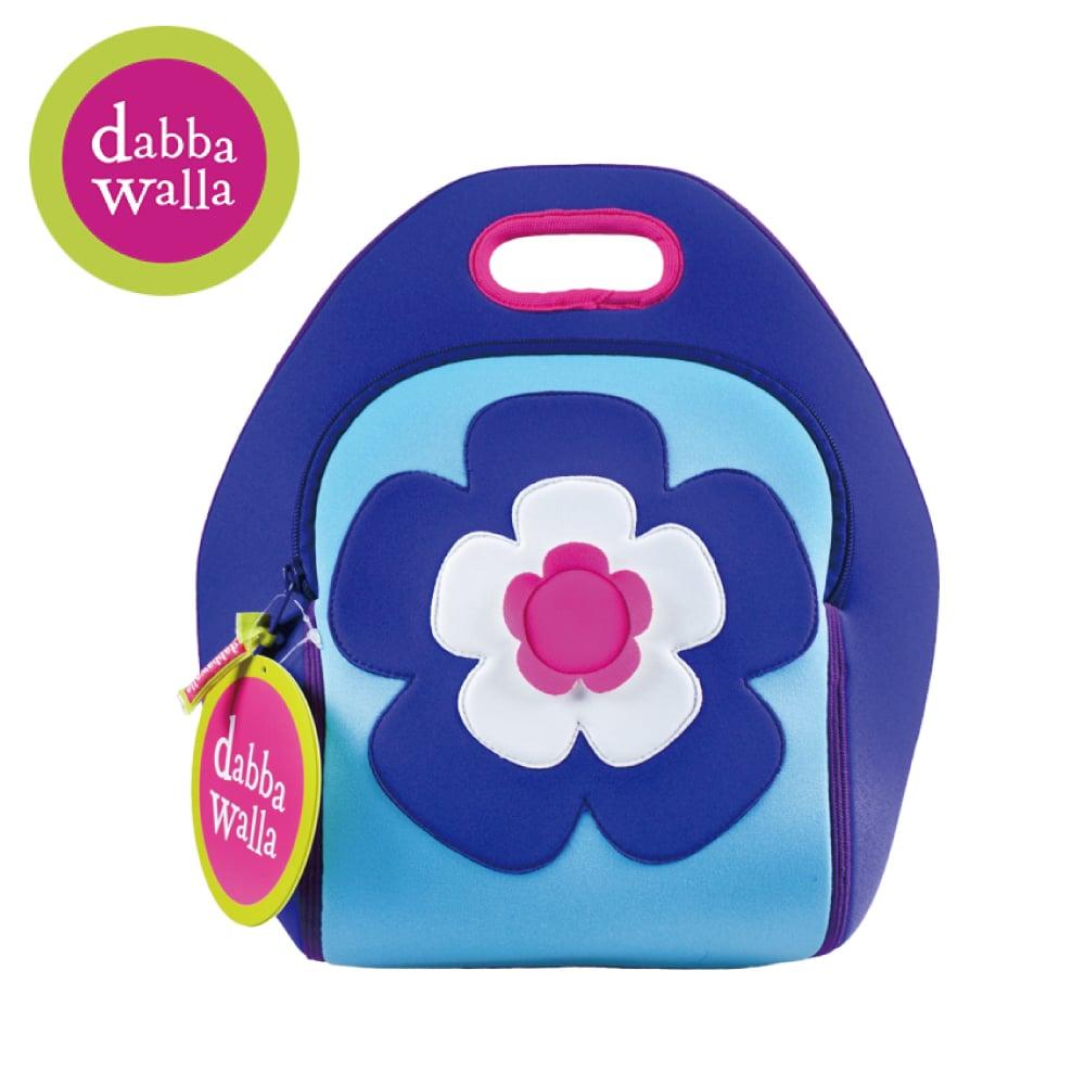 美國Dabbawalla瓦拉包 -花朵兒童手提包