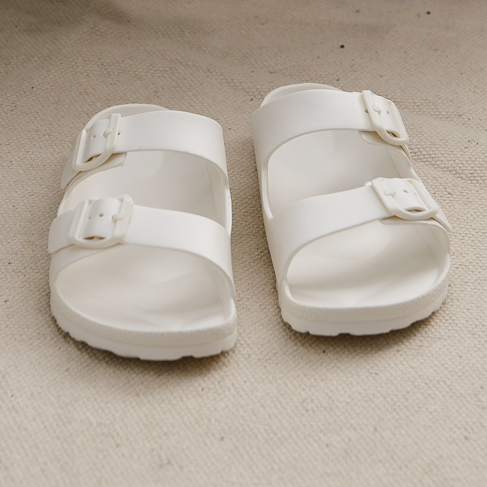 EVA室外休閒鞋-典雅白(23)-生活工場