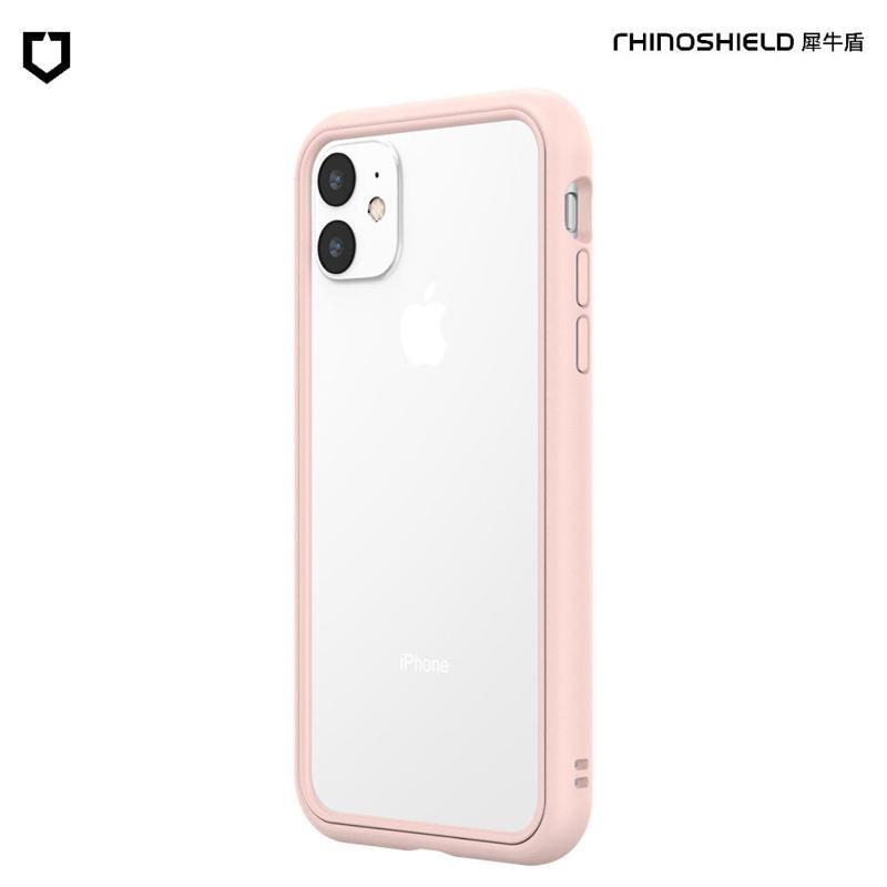 犀牛盾 CrashGuard NX防摔邊框手機殼 iPhone 11 6.1(2019) 櫻花粉
