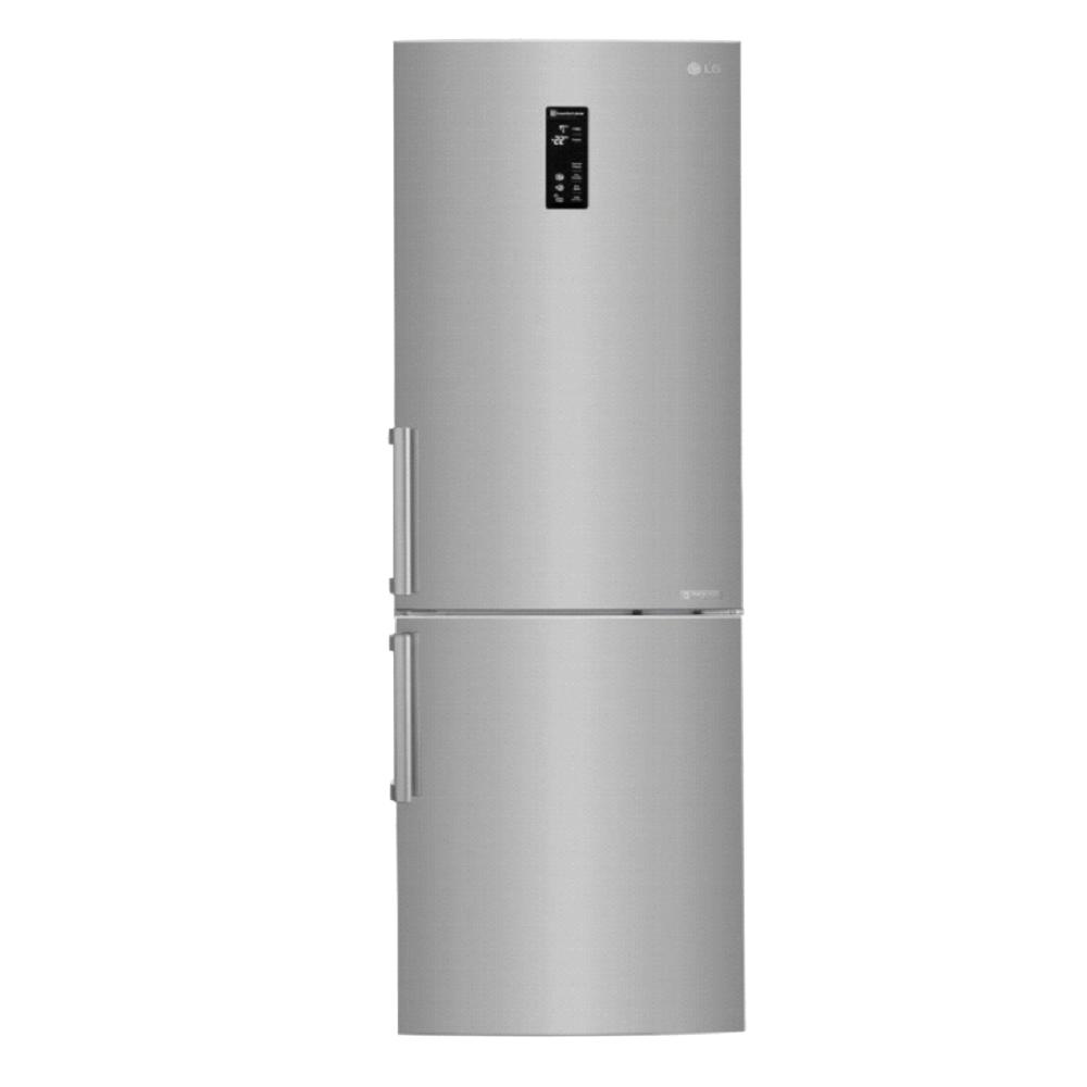 【LG樂金】350L 直驅變頻上下門冰箱(精緻銀)GW-BF388SV