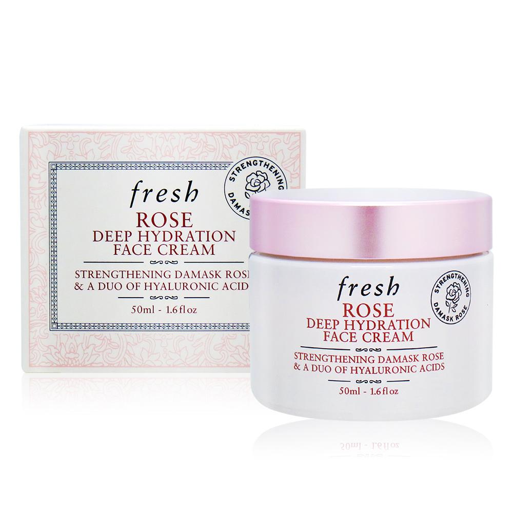 Fresh 馥蕾詩 玫瑰深層保濕面霜(50ml)-國際航空版