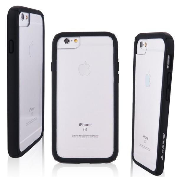 iPhone 6/ 6S/ 7/ 8 (4.7吋) 波塞頓系列 耐撞擊雙料防摔殼(黑色)