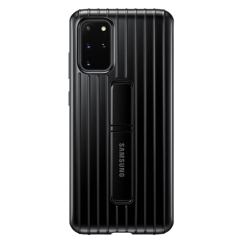 SAMSUNG Galaxy S20+ 5G立架式保護皮套 黑