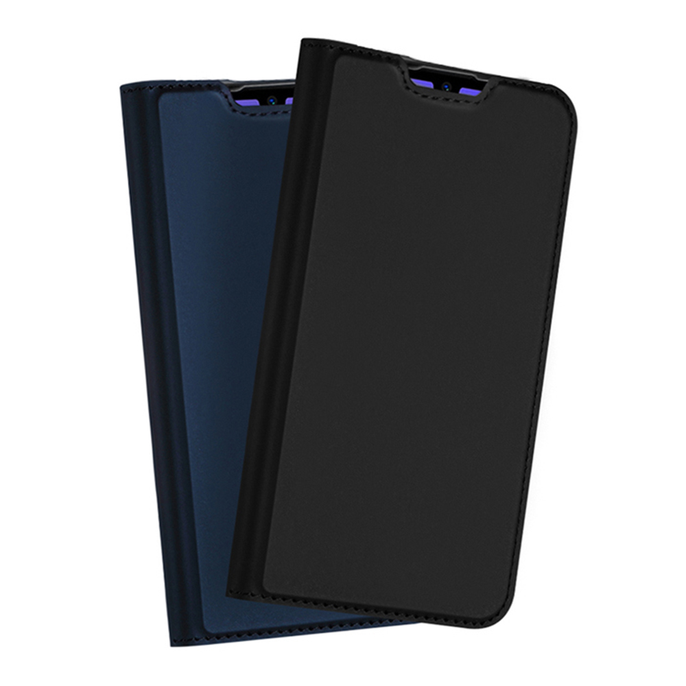 DUX DUCIS LG Q60/K50 SKIN Pro 皮套(藍色)