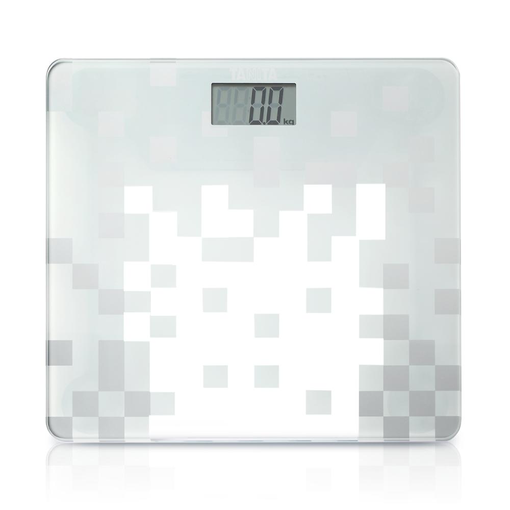 【日本TANITA 】時尚超薄電子體重計HD-380 -透明白