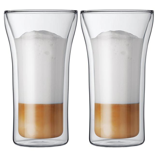 丹麥Bodum ASSAM雙層玻璃杯400CC(一盒二入)