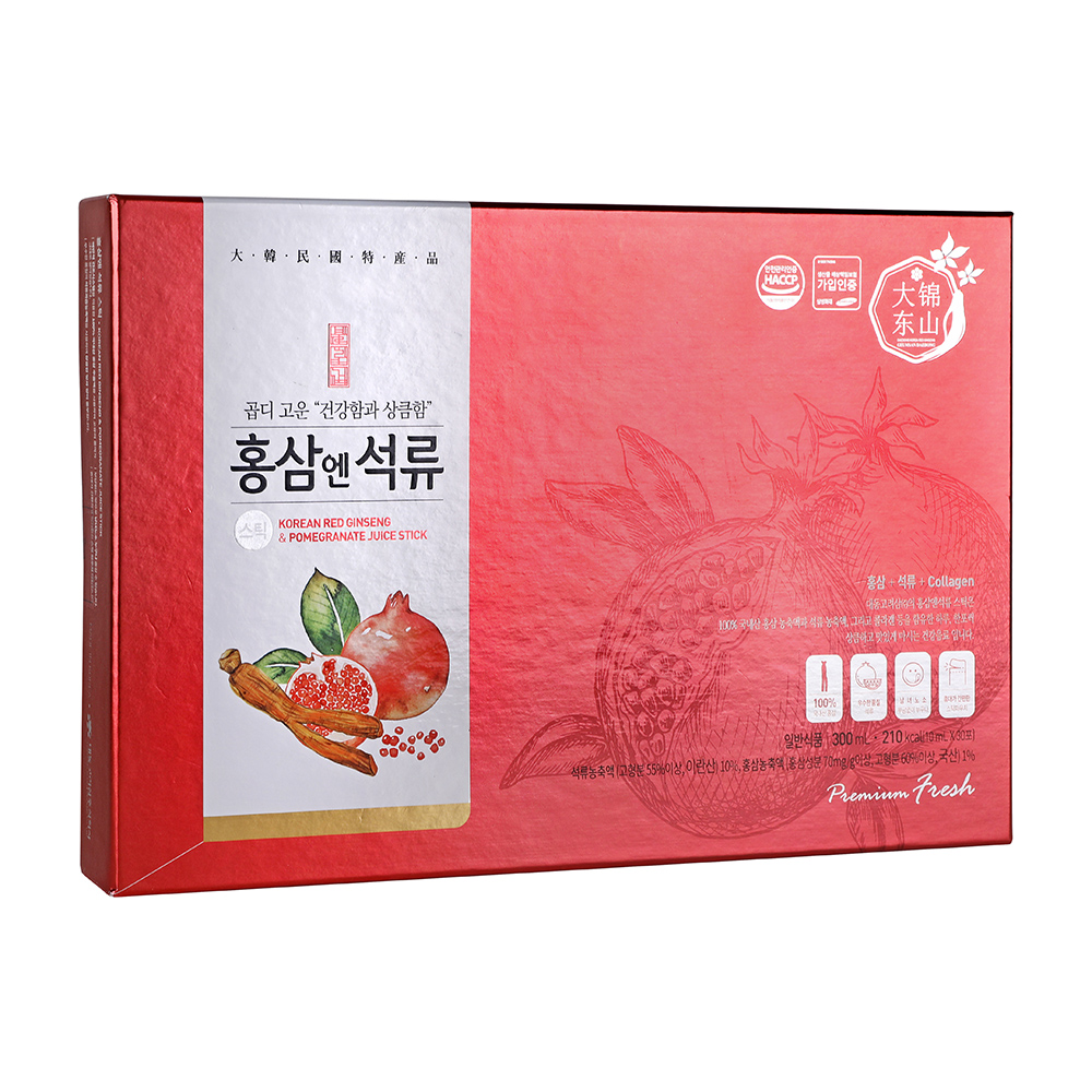 【大東】紅蔘石榴飲(10ml/30入)