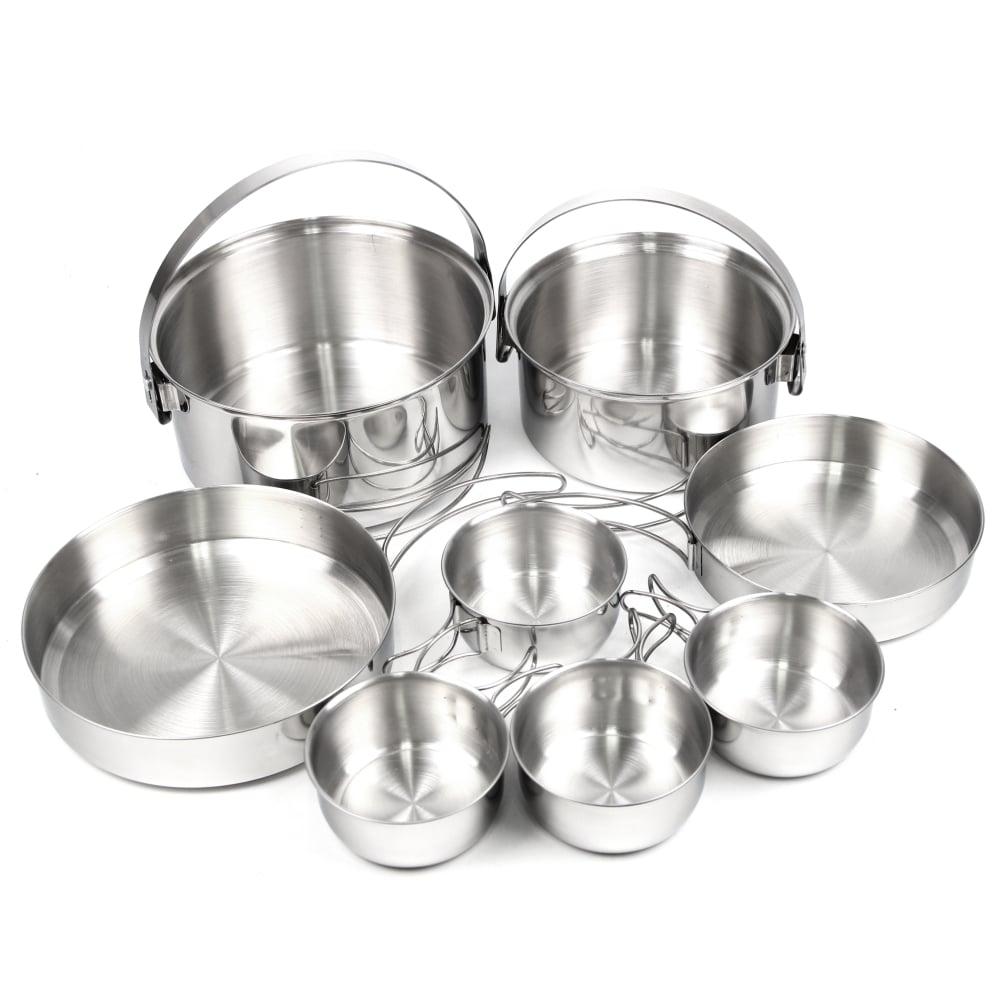 犀牛 RHINO  4-5人不鏽鋼套鍋