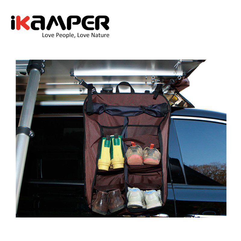 IKAMPER Skycamp 車頂帳蓬配件 Shoe Rack 鞋架 鞋袋 容納六雙