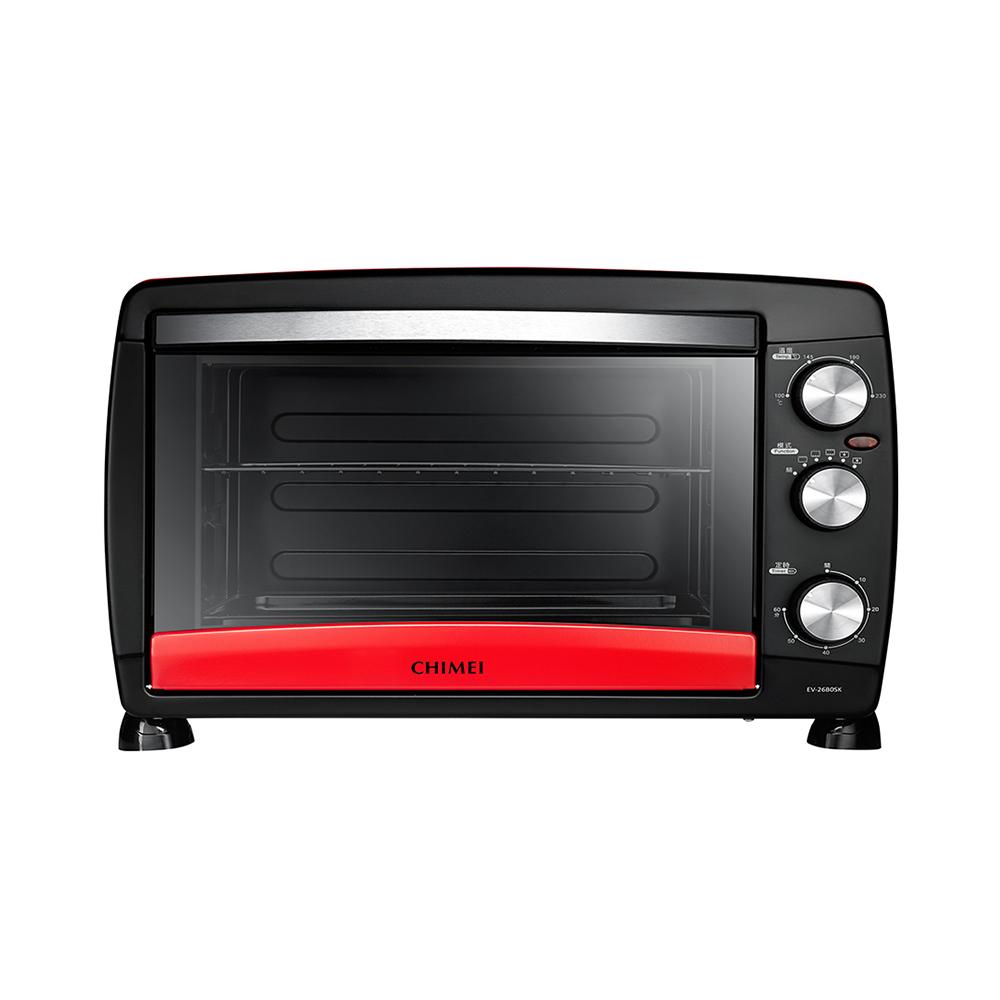 CHIMEI 奇美 26公升 旋風式烤箱 EV-26B0SK 紅色