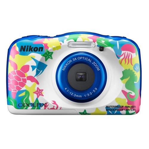 Nikon coolpix W100 防水數位相機 (公司貨)-彩白色