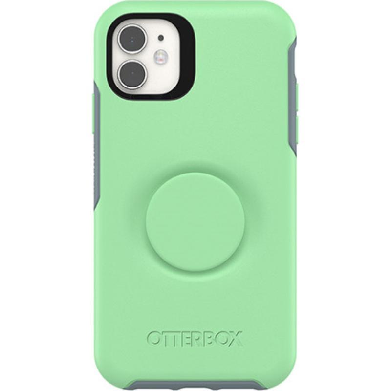 OtterBox 炫彩幾何泡泡騷保護殼iPhone 11 6.1 綠