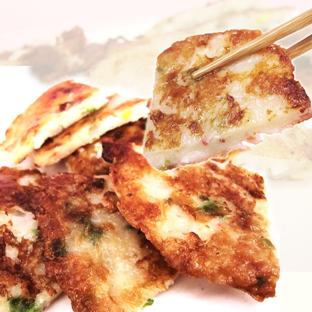 預購《老爸ㄟ廚房》黃金月亮蝦餅200g/包,2片/包 (共三包)
