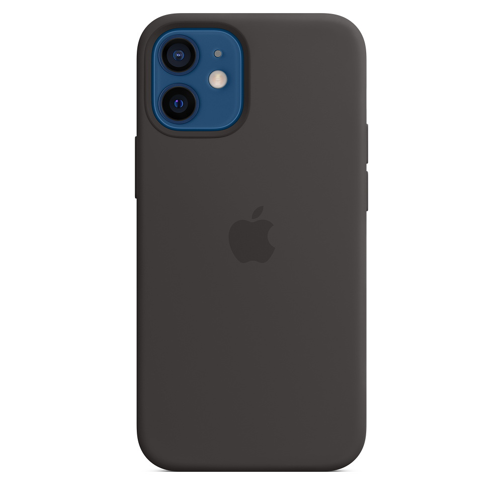 APPLEMagSafe 矽膠保護殼 iPhone 12 mini 5.4 黑