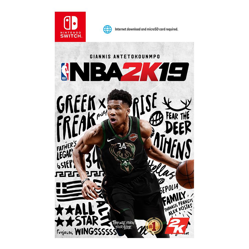 Nintendo Switch NBA 2K19_亞版中文一般版