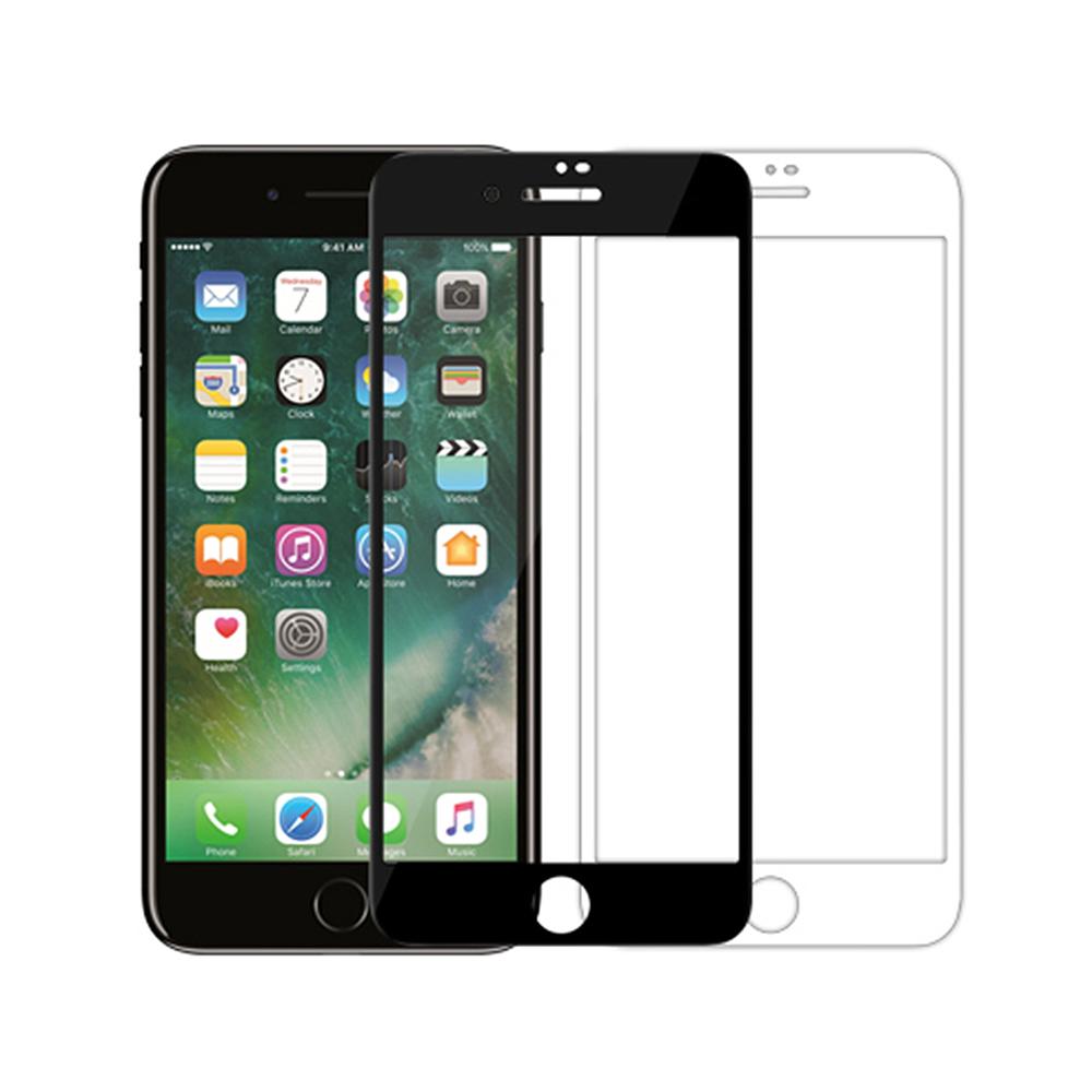 NILLKIN Apple iPhone 8/7 Plus XD CP+ MAX 滿版玻璃貼(白色)