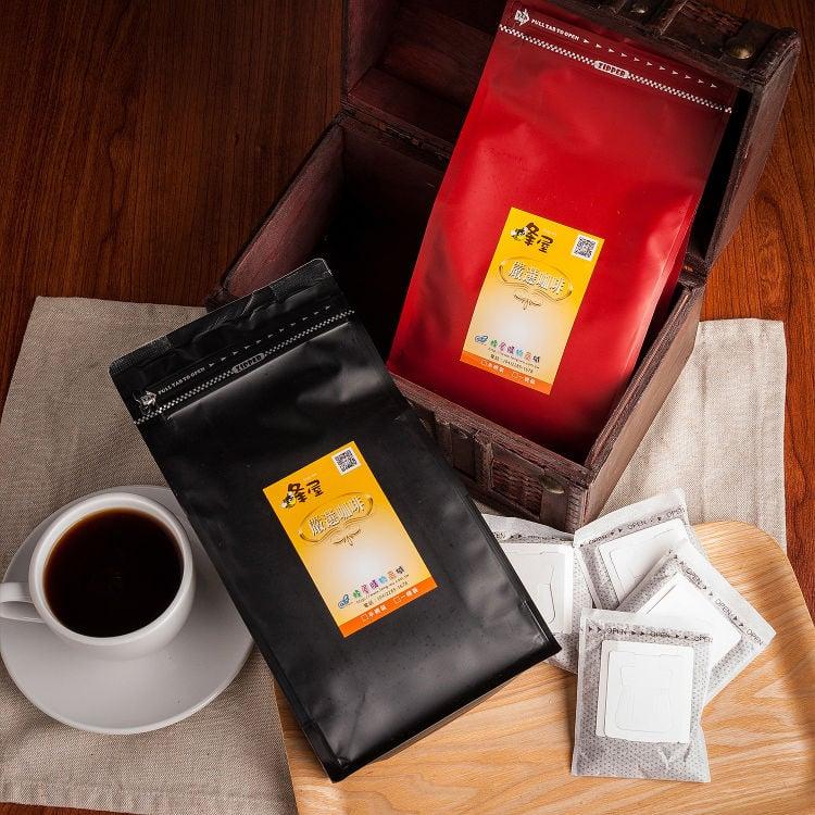 《蜂屋》晨曦濾泡咖啡,環保裸裝包(20入)