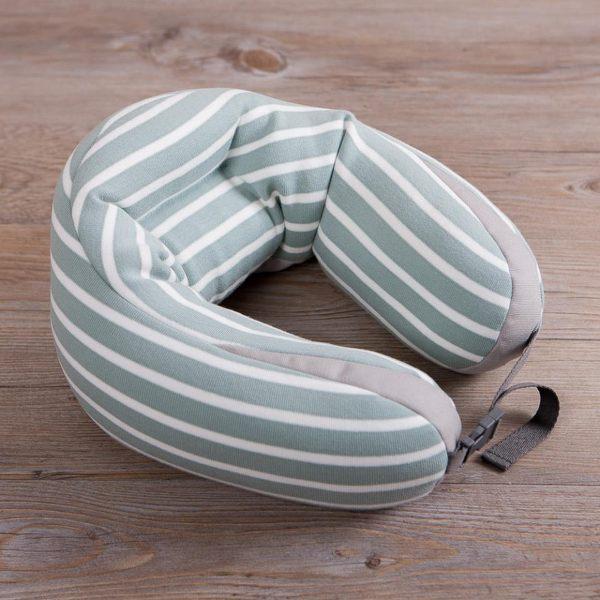 舒能親膚頸枕-綠色-生活工場