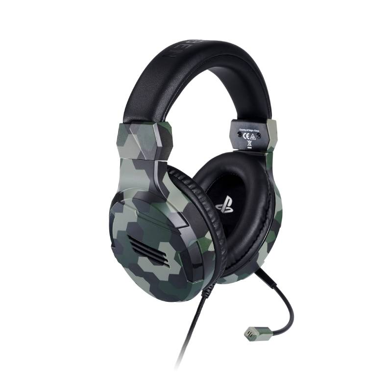 PS4 BIGBEN 立體聲電競耳機 迷彩綠