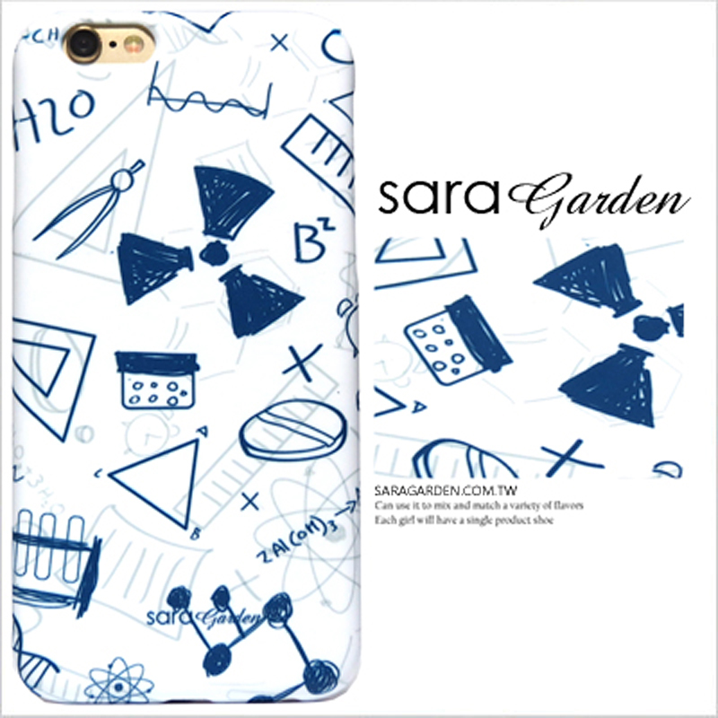 【Sara Garden】客製化 手機殼 Samsung 三星 Note10 手繪 插畫 科學 物理 保護殼 硬殼