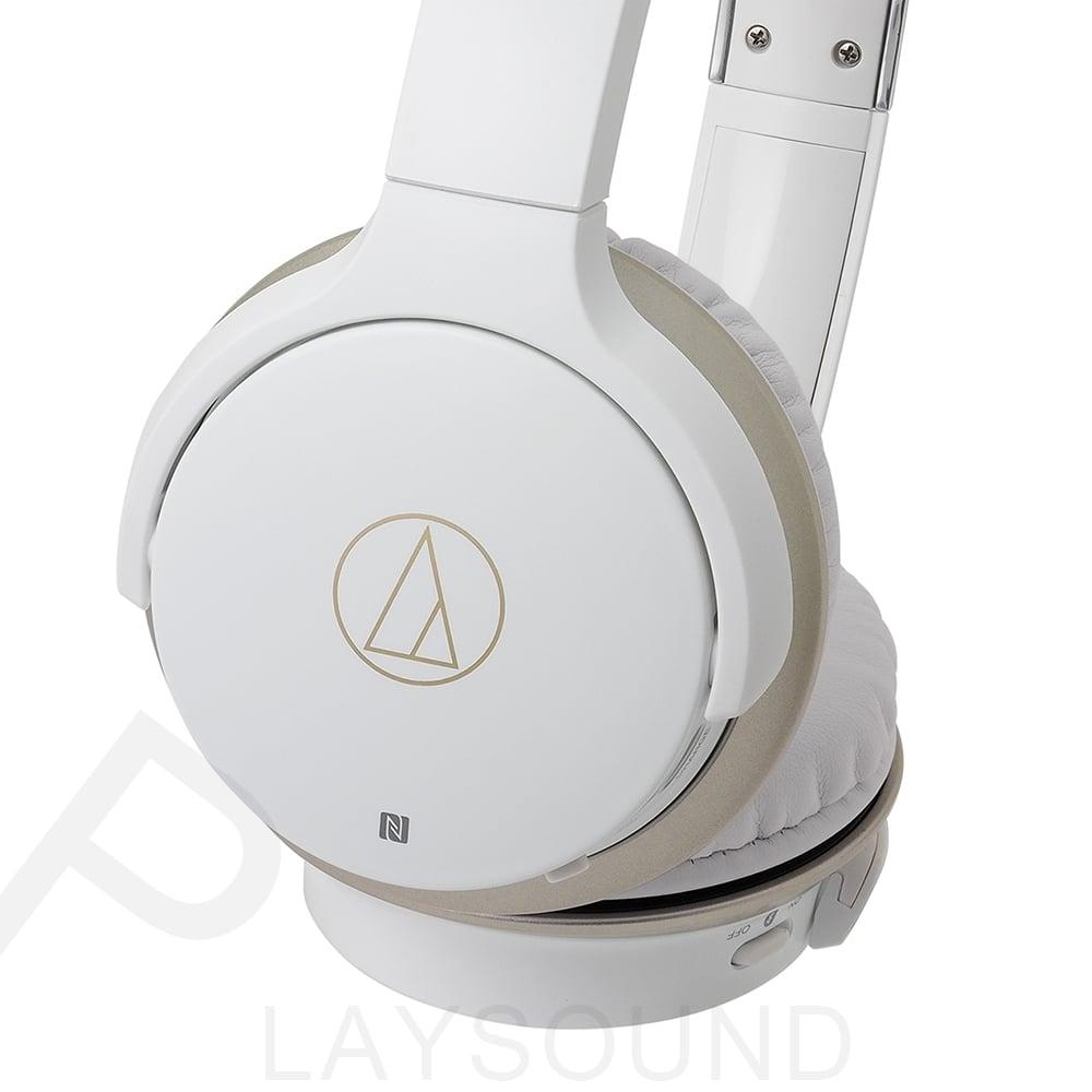 鐵三角 ATH-AR3BT 白色 可折疊 無線藍牙 頭戴式耳機