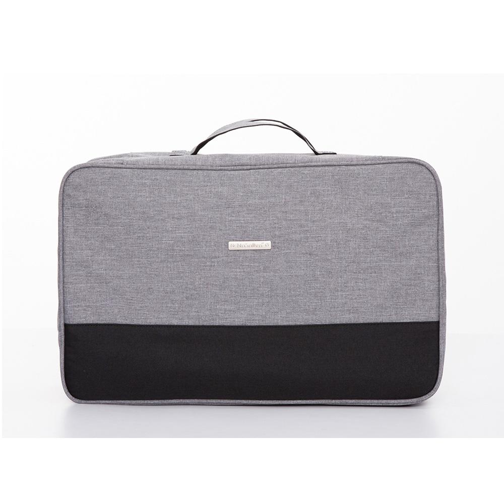 【德國品牌NaSaDen】衣物收納袋-衣物收納/乾淨髒污衣物清楚分開收納袋(萊姆灰)