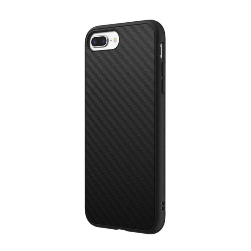 犀牛盾iPhone8 Plus/iPhone7 Plus SolidSuit 防摔手機殼碳纖維黑
