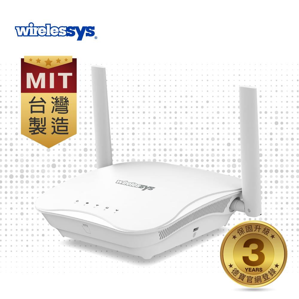 Wirelessys TM120 4G LTE AC1200 Mesh Wi-Fi網狀無線路由器