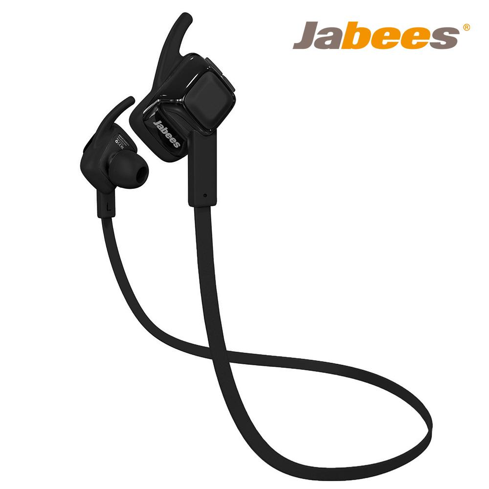 Jabees BeatING 藍牙4.1運動型防水耳機 - 黑色