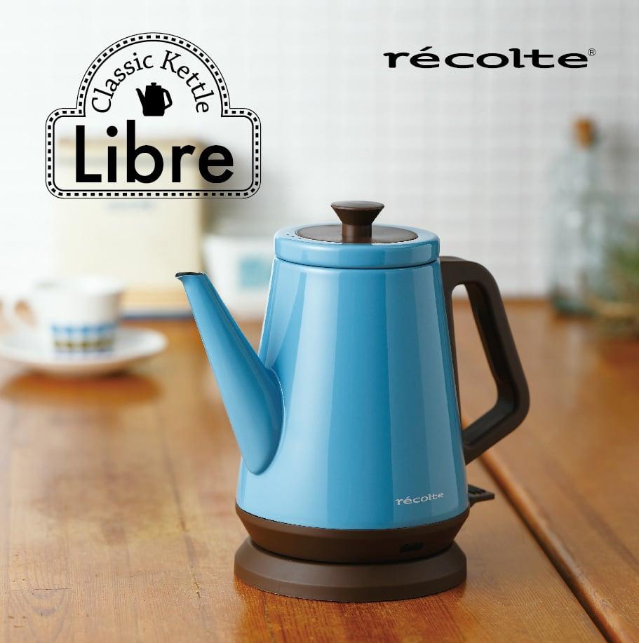 recolte 日本麗克特|Libre 經典快煮壺-土耳其藍RCK-(BL)