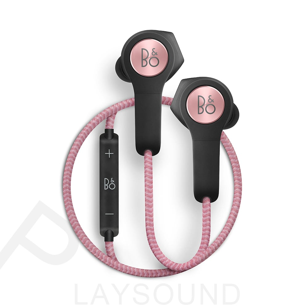 B&O PLAY BeoPlay H5 玫瑰金 運動型 智慧型手機專用 無線藍牙 耳道式耳機