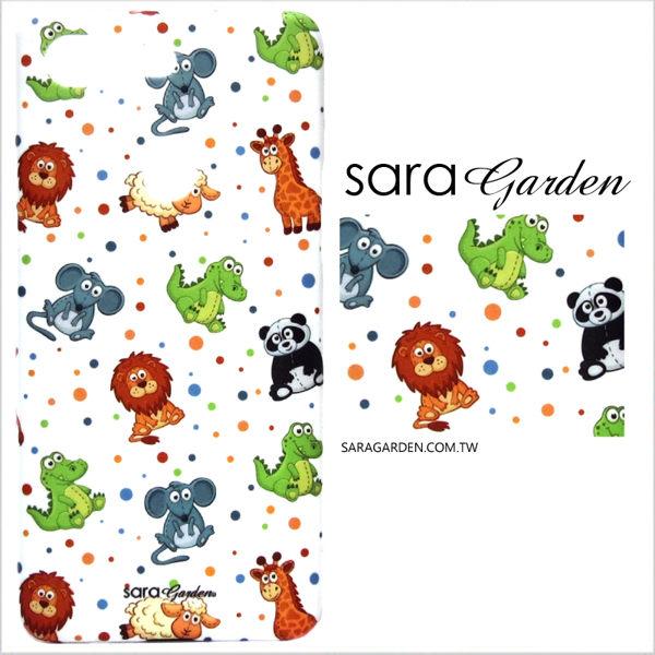 【Sara Garden】客製化 手機殼 ASUS 華碩 Zenfone4 Max 5.5吋 ZC554KL 保護殼 硬殼 手繪可愛動物