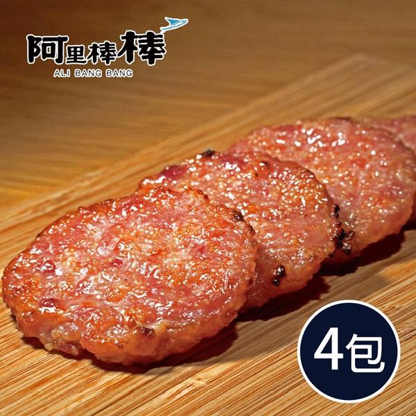 《阿里棒棒》啵啵肉乾150g±10g/包(共4包)