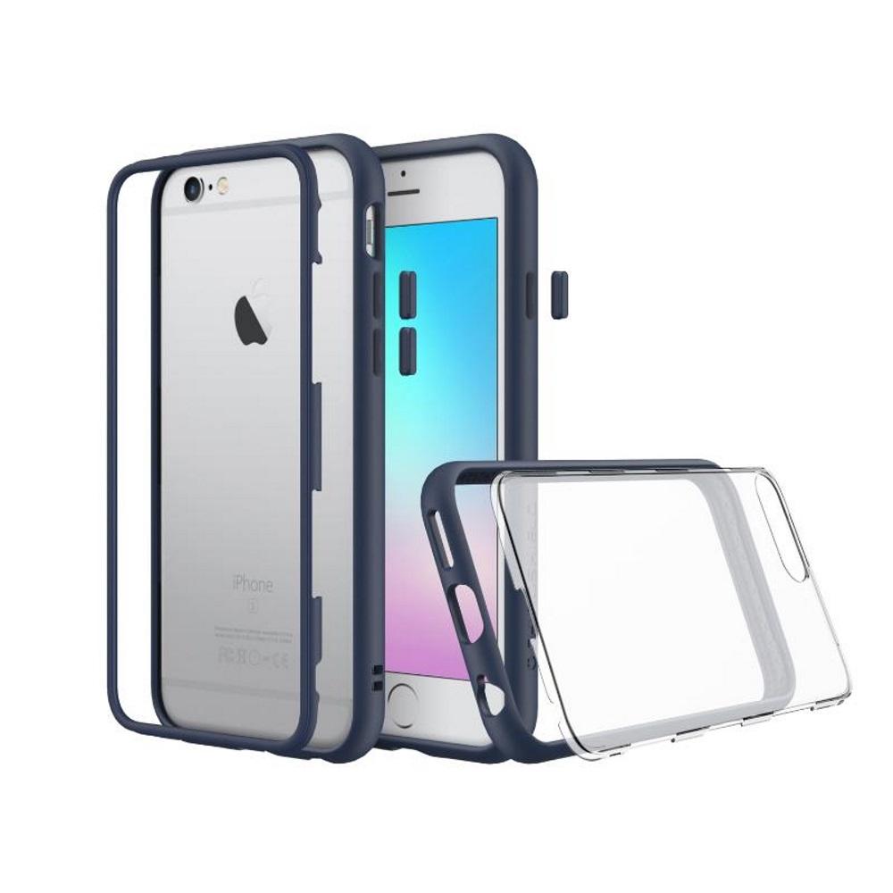 犀牛盾iPhone6s Plus /iPhone6 Plus MOD防摔背蓋手機殼 靛藍