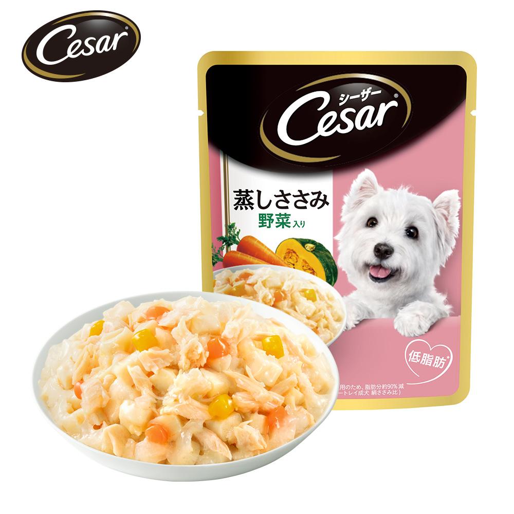 西莎 蒸鮮包成犬低脂雞肉與蔬菜(70gx16入)