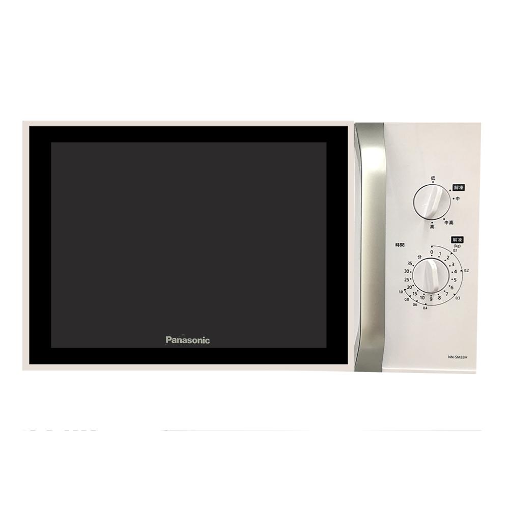 【Panasonic 國際牌】25L 機械式微波爐 NN-SM33H