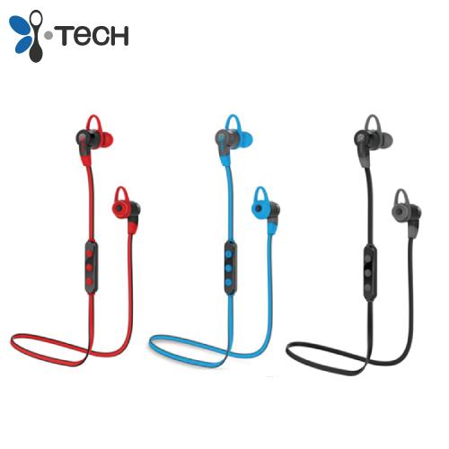 i-Tech MusicBand 6300 頸繩式藍牙耳機 -紅色