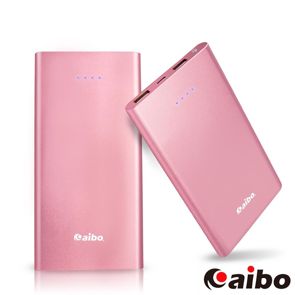 aibo 現代美學 8400mAh超薄隨身行動電源-粉紅
