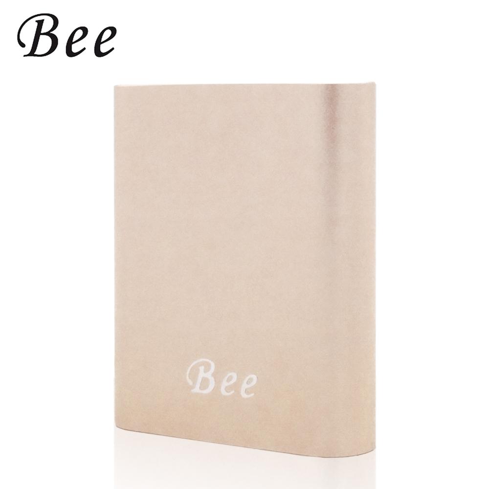 Bee 10400series 金屬質感 簡約設計 行動電源-玫瑰金