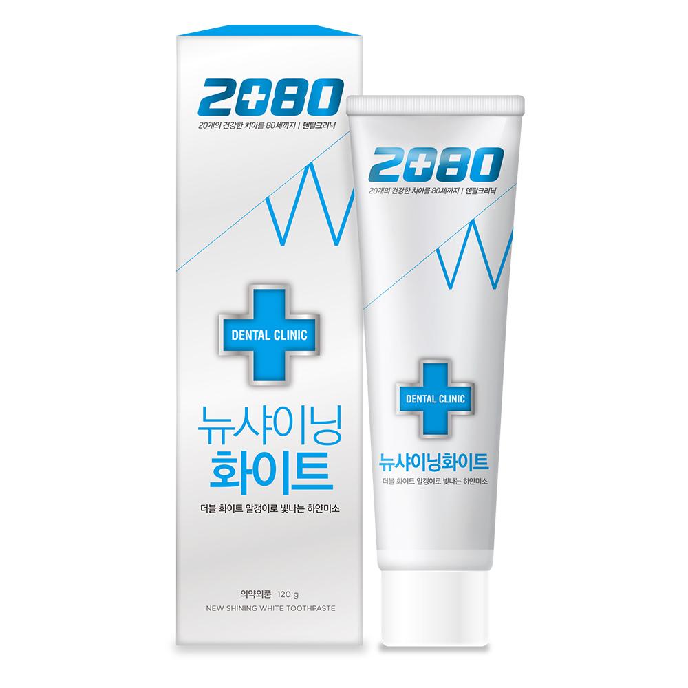 【韓國2080】潔白牙膏120gX8入