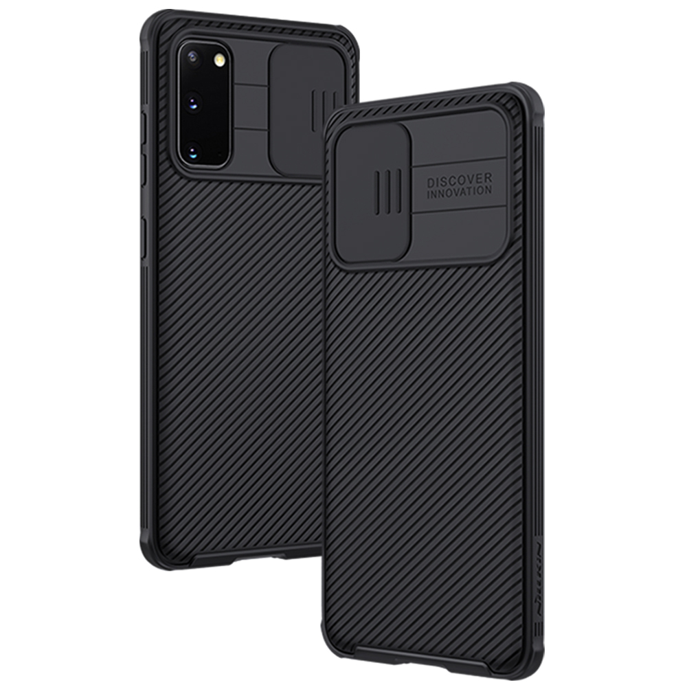 NILLKIN SAMSUNG Galaxy S20 黑鏡 Pro 保護殼
