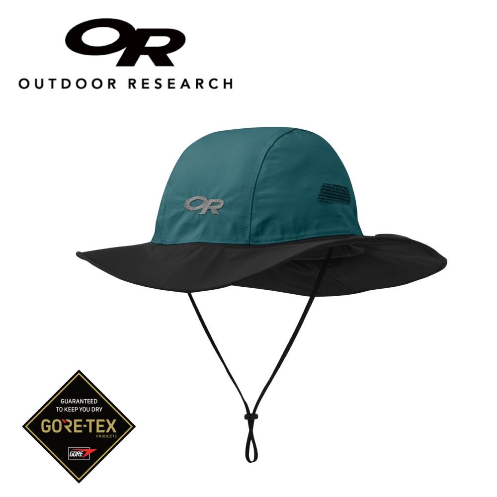 【美國Outdoor Research】翠湖綠L-新色經典款防水透氣防曬可折疊遮陽帽