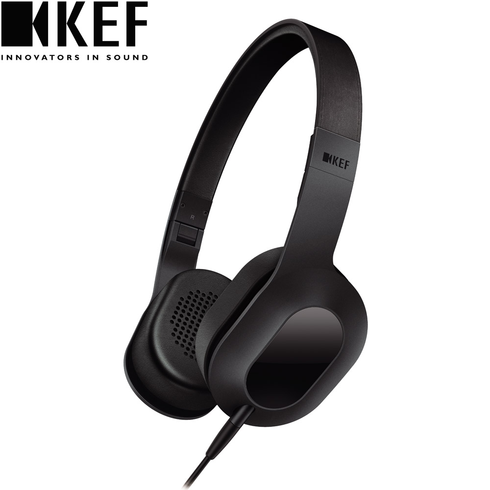 英國 KEF M400 Hi-Fi 耳罩式耳機-深沉黑